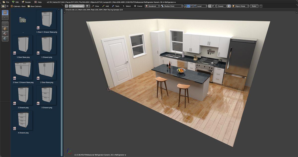 Fluid Designer Free Interior Design Software For Kitchen, Bath, And Closet  Design.