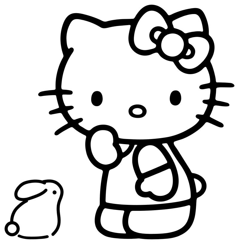 رسومات Hello Kitty للتلوين اجمل رسومات Hello Kitty للتلوين رسومات هيلو كيتى للتلوين حصريا Hello Kitty Kitty Character