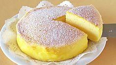 Buttermilchkuchen mit Eier und Zucker - Rezept mit Bild