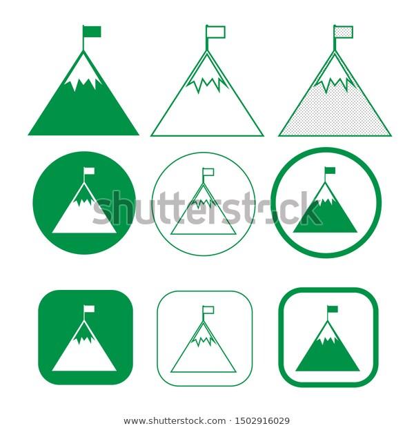 Simple Mountain Icon Sign Design Stock Vector Royalty Free 1502916029 Sign Design Stock Images Free Stock Vector