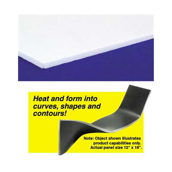 Curvable Pvc Board White 12 Inches X 18 Inches X 3mm 1 8 Inch Thick 3 Sheets In 2020 Pvc Board Resin Supplies Casting Kit
