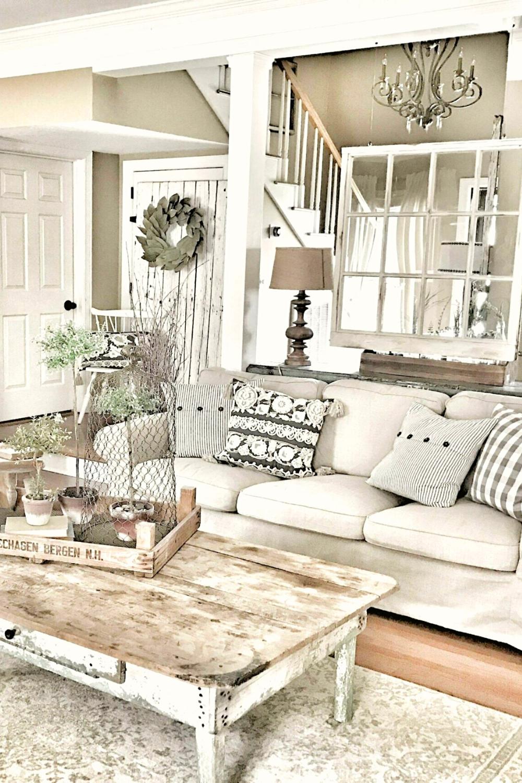 Awesome Farmhouse Home Decor Ideas In 2020 Farm House Living Room Country Living Room Farmhouse Decor Living Room