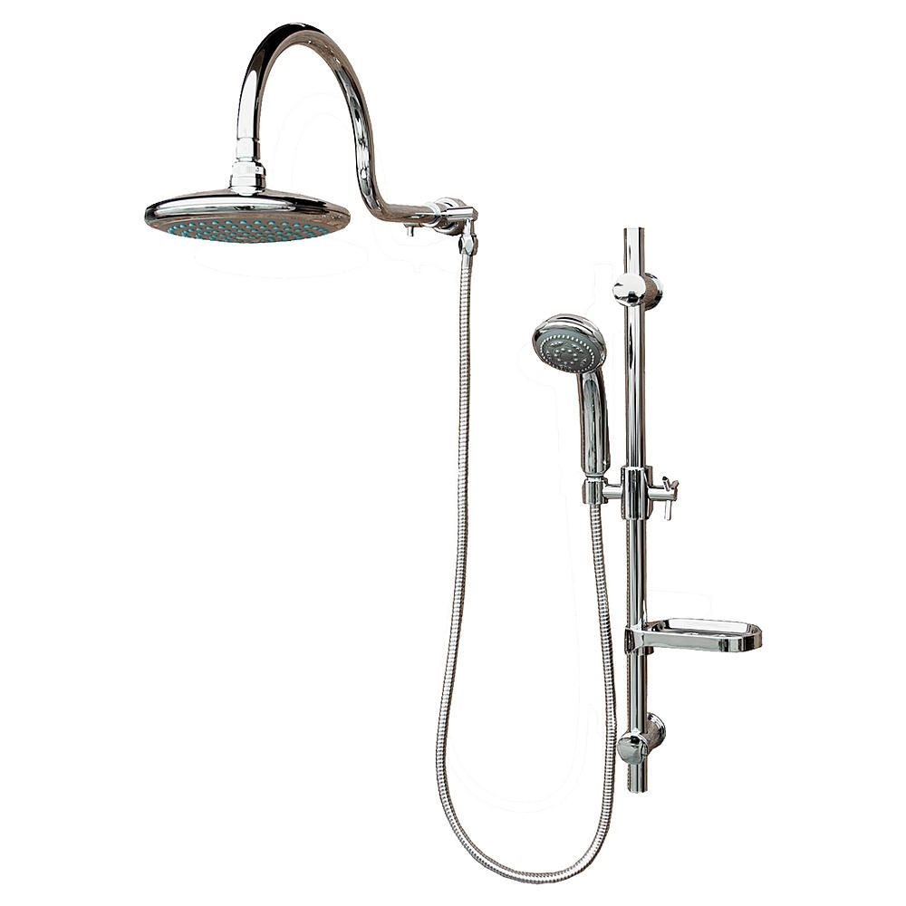 The Aqua Rain Shower System From Pulse Showerspas Replaces Your Existing Showerhead With An Oversized Rain S Rain Shower System Shower Systems Rain Shower Head