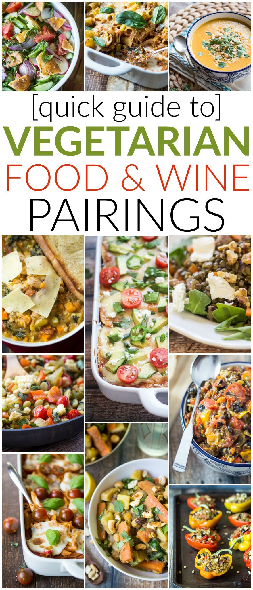 Quick guide to vegetarian wine pairings wine pairings vegetarian red wine with beef white wine with fish right what about vegetarian recipes check out this quick guide to vegetarian wine pairings for recommendations forumfinder Image collections