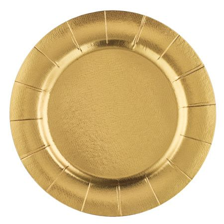 Set of 10 Gold Disposable Charger Plates  sc 1 st  Pinterest & Set of 10 Gold Disposable Charger Plates | table settings | Pinterest