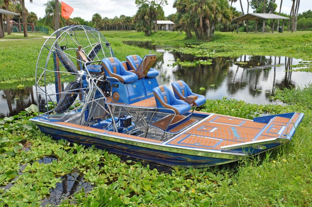 Castaway Customs Worked With Hamant Airboats To Create Custom