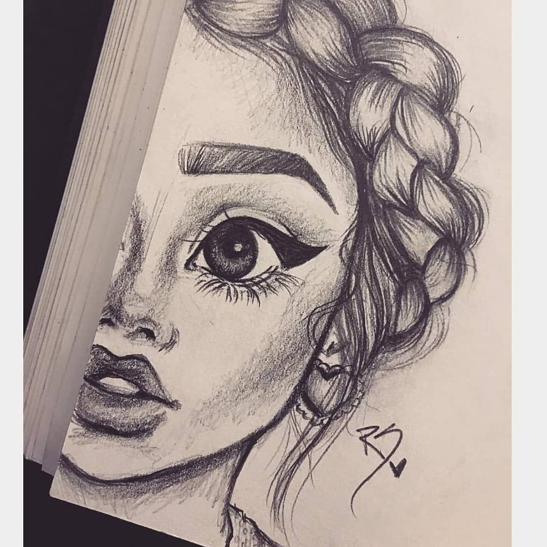 A Picture From Manila1545 Auf Pinterest Painting Draw Girl Pencil Paint Drawing Blackandwhite Art Drawings Sketches Sketches Girl Drawing Sketches