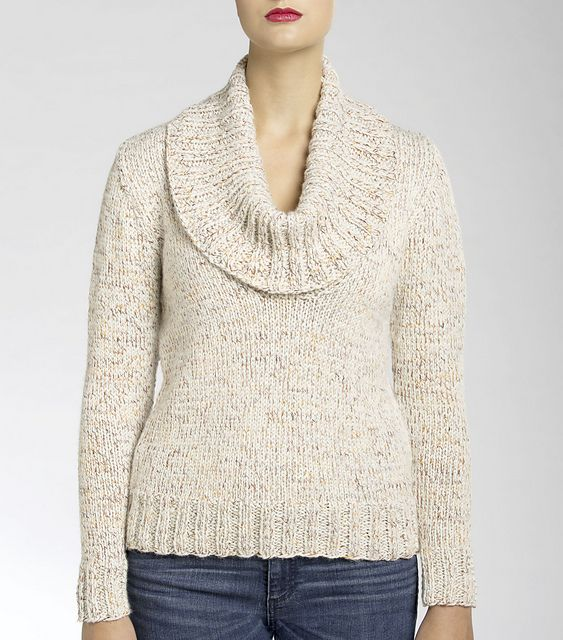 Ravelry: University Cowl Knit Pullover pattern by Isaac Mizrahi ...