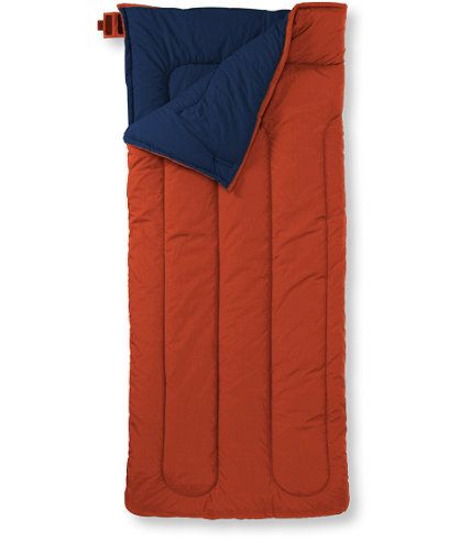 Camp Sleeping Bag, Cotton-Blend-Lined Extra-Large 40: Sleeping Bags | Free Shipping at L.L.Bean