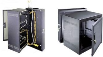 Middle Atlantic DWR Series Sectional Wall Mount Rack Enclosures ...