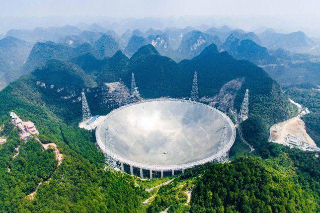 China's biggest radio telescope picked up over 100 ...