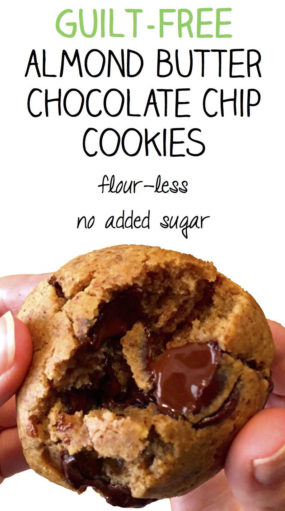 Soft-Batch Gluten Free Chocolate Chip Cookies   Almond butter ...