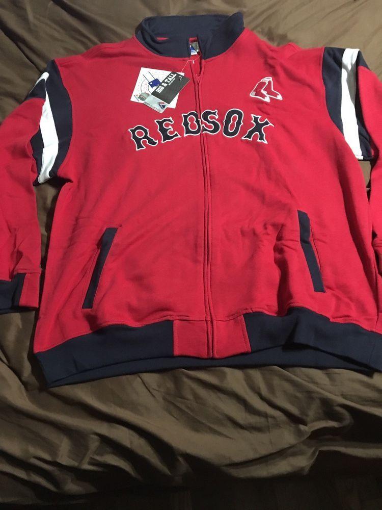 BOSTON RED SOX MAJESTIC G.M. ZIP FRONT SWEATSHIRT MENS 2XLT (eBay Link)  Boston Red 07c9f55b7