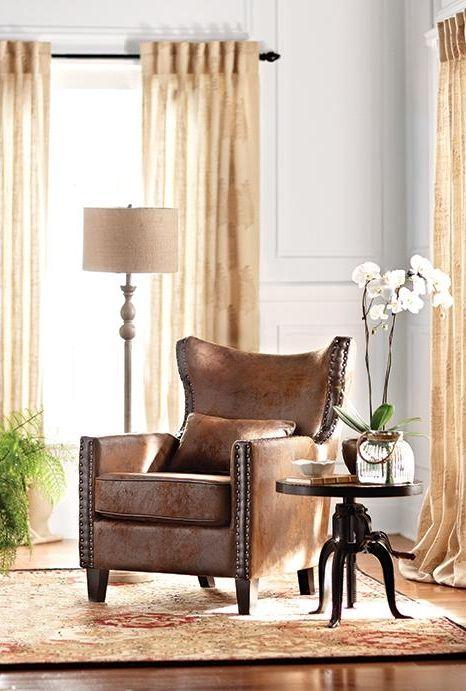 Best Home Decorators Collection Meloni Faux Suede Brown Bonded 400 x 300