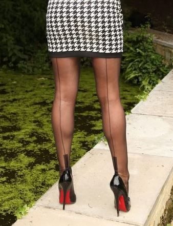 Pantyhoses classic shoes lovers