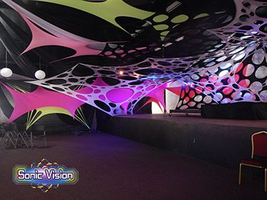 Fabric Designs For Stages Stretch Decor Tents Event