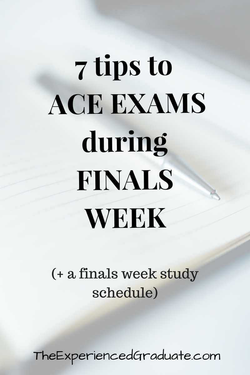 How to prepare for the exam: tips experienced student