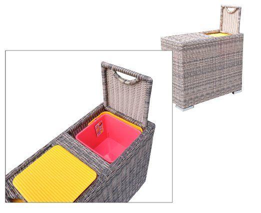 Amazon Com Radeway 6 Piece Patio Furniture Sofa With 400 x 300
