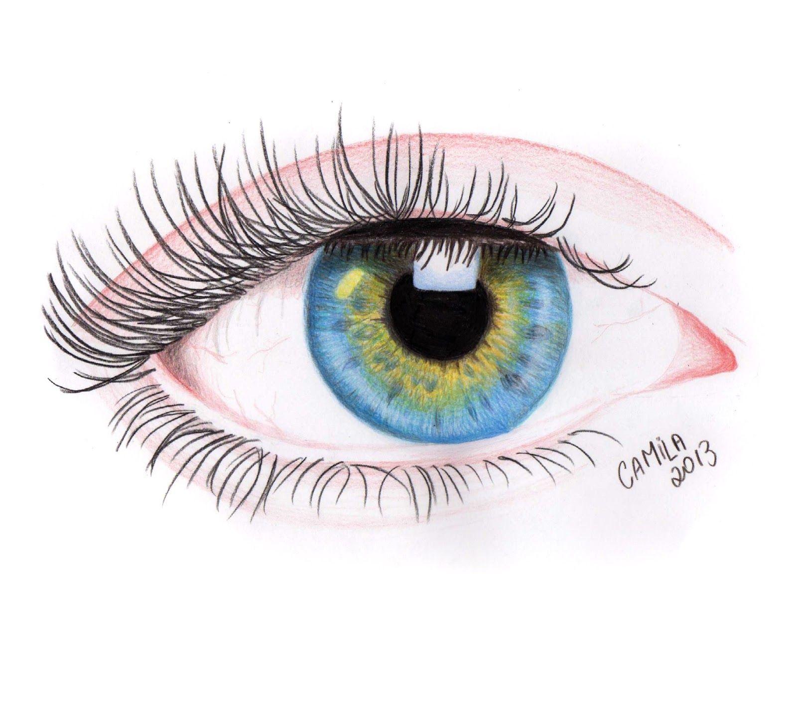 Pin De Socorro Em Olhos Desenhos Realistas Olhos Coloridos