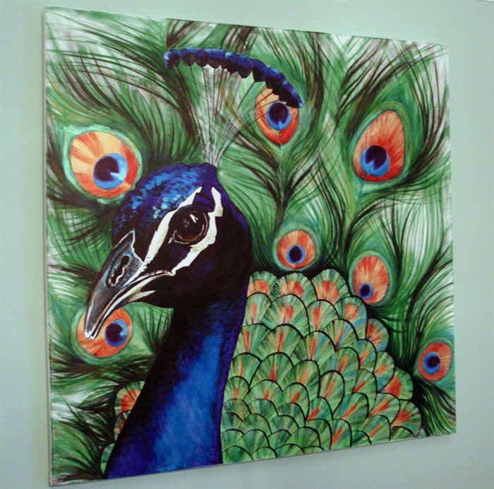 Pin By Gail Sime On Art Peacock Drawing Peacock Painting Peacock Drawing With Colour