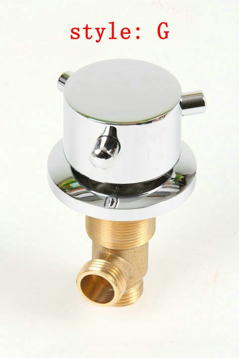 7 Style Hotcold Water Mixer Brass Bathtub Mixer Set Of Taps For Hot And Cold Water Switch Shower Valve Shower Mix Shower Valve Bathroom Shower Faucets Bathtub