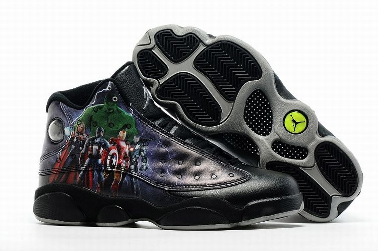 Wholesale Air Jordan 13 Mens Shoes The Avengers