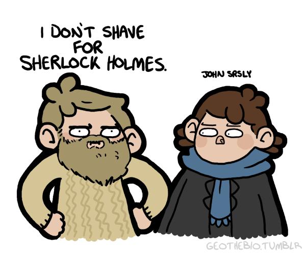 Sherlock Holmes profil randkowy