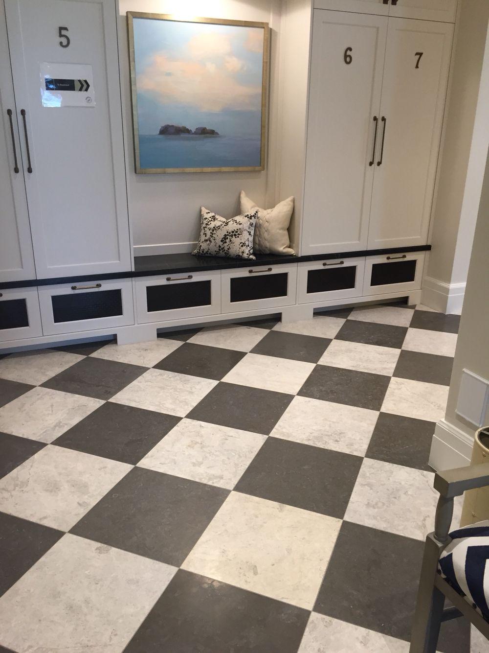 Venetian floors.