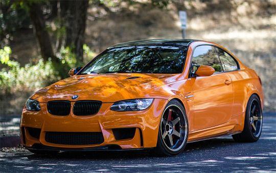 Top Vehicles Fire Orange M3 On Te37 S Via Reddit Bmw Bmw M3 Sport Cars