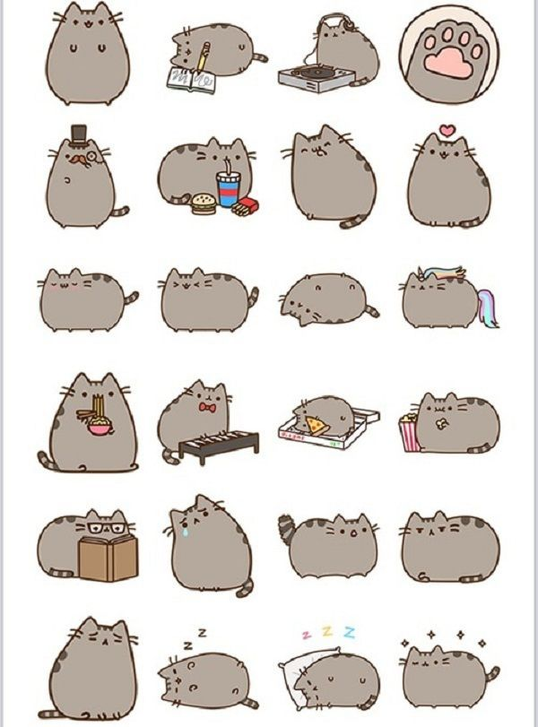 photo regarding Pusheen Printable identify Graphic final result for pusheen printable stickers \