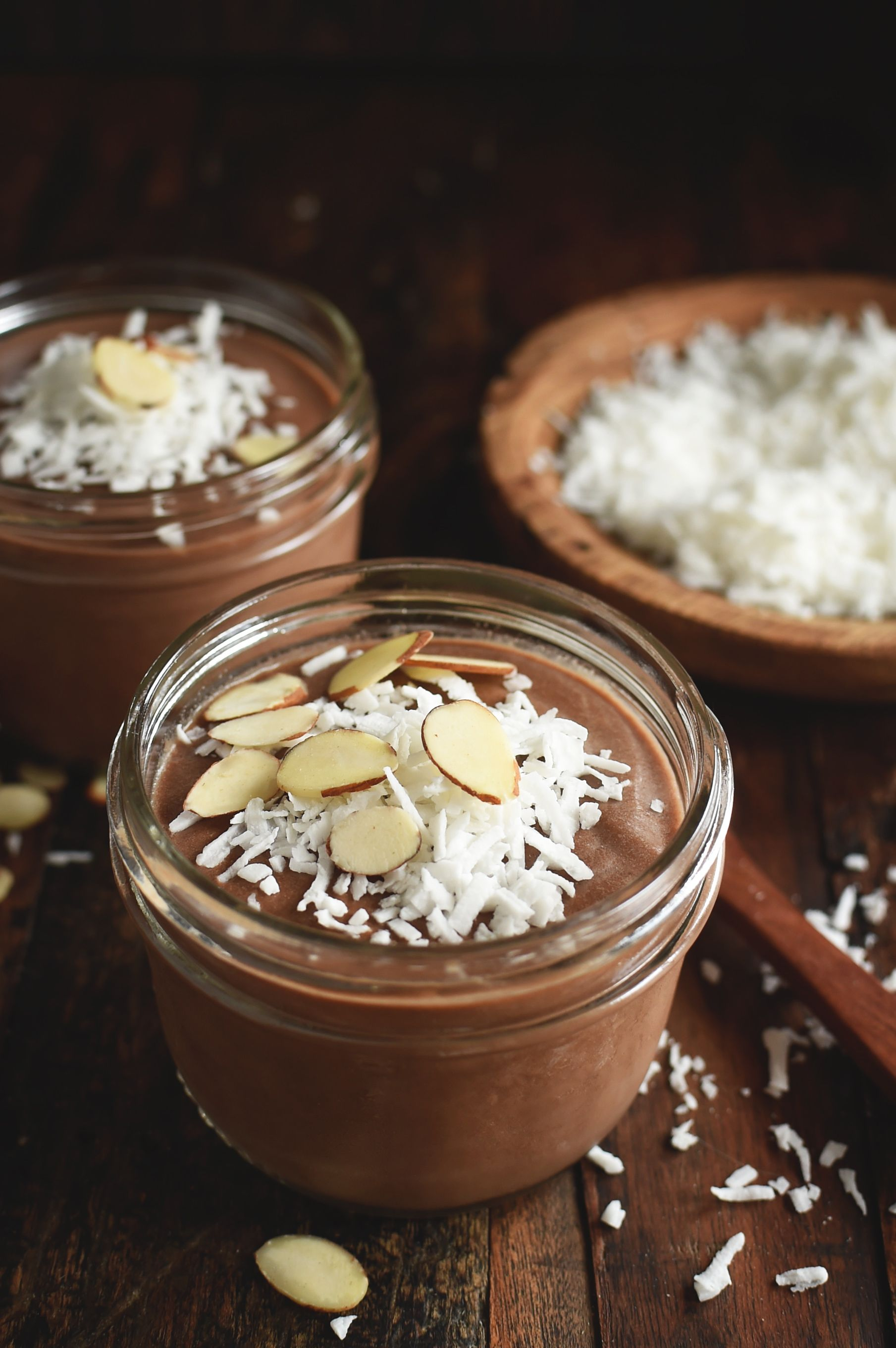 Chocolate Almond Avocado Pudding Recipe Avocado Pudding Dairy