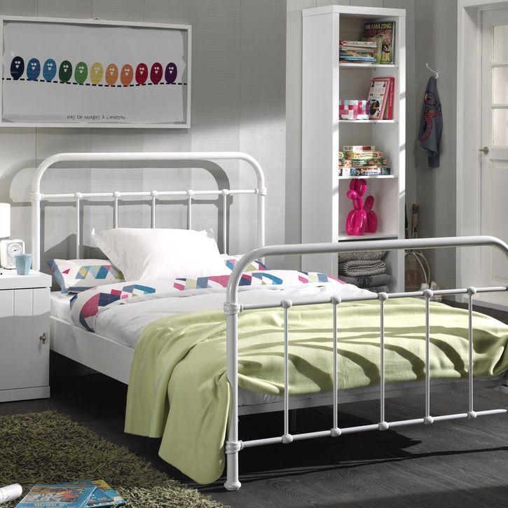 Best New York Metal Children S Single Bed Yellow Nubie 400 x 300