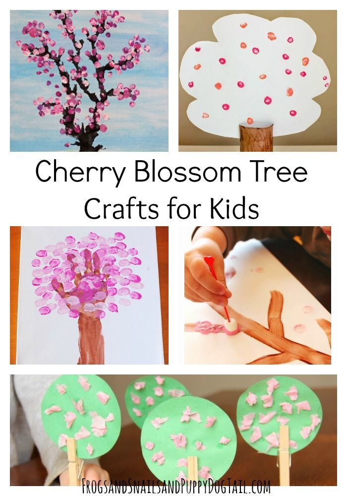 Creative Cherry Blossom Tree Crafts For Kids Fspdt Preschool Arts And Crafts Tree Crafts Crafts For 3 Year Olds