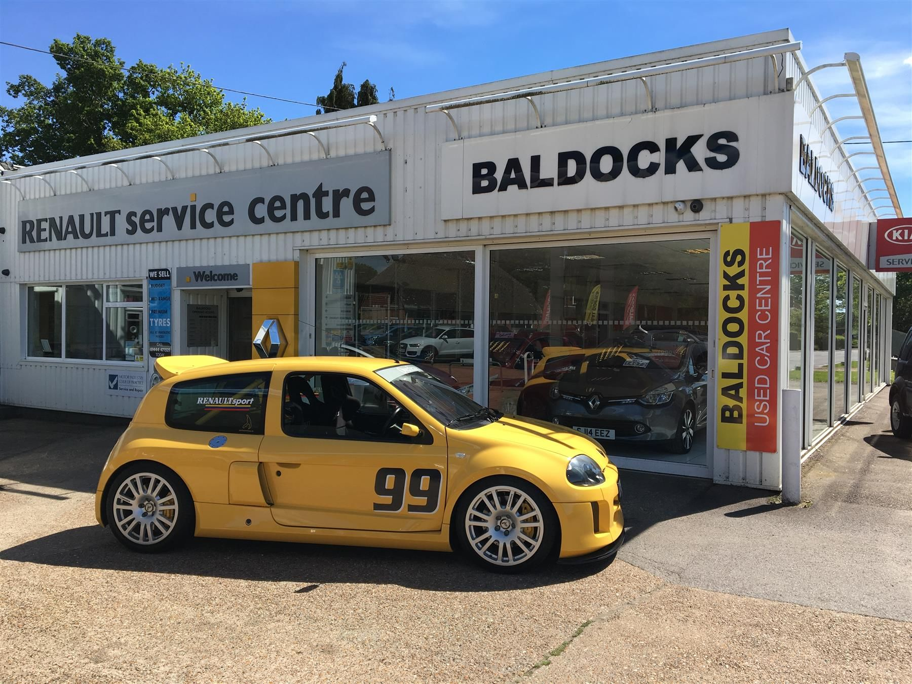 Used 2002 Renault Clio V6 Renaultsport V6 For Sale In East Sussex