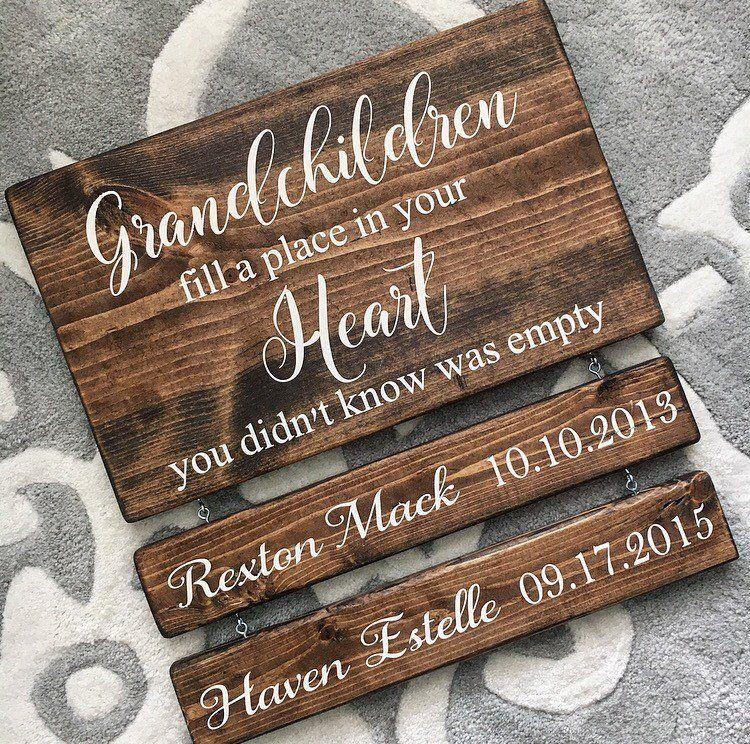 Grandparents Wood Sign Sign Inspiration Pinterest Wood Signs