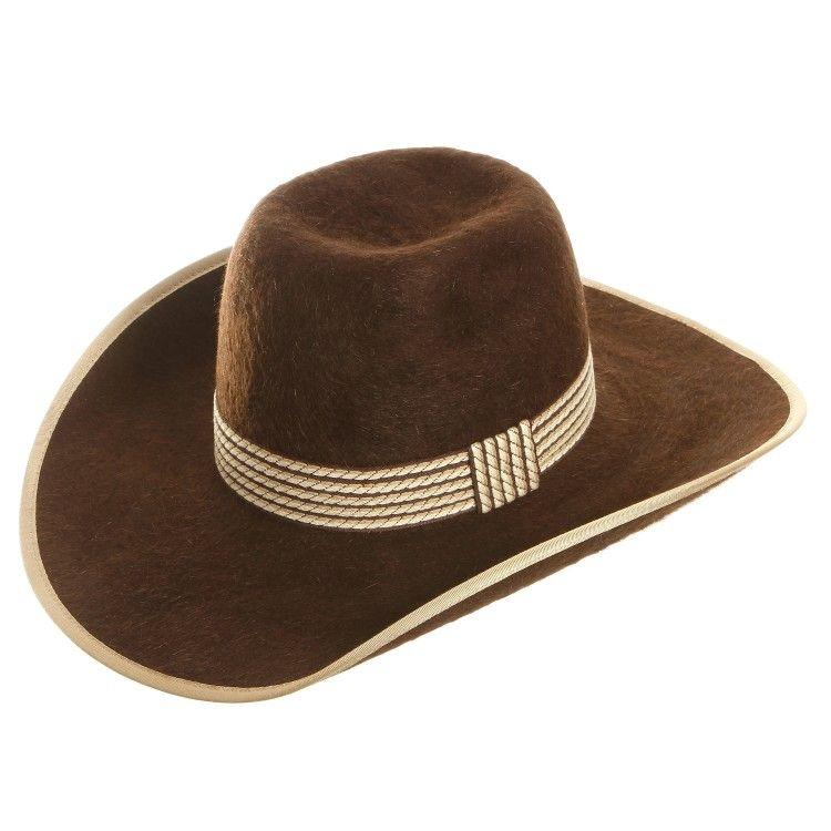 f847216417136 American Hat Company 20x Grizzly Felt Brown Cowboy Hats