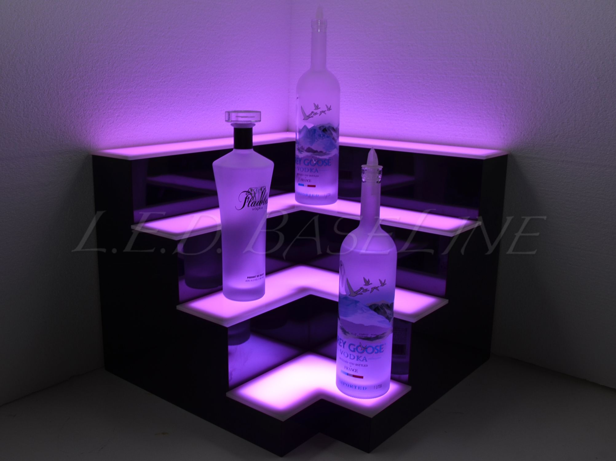 home mood lighting. corner lighted bar shelf decor back mood lighting home