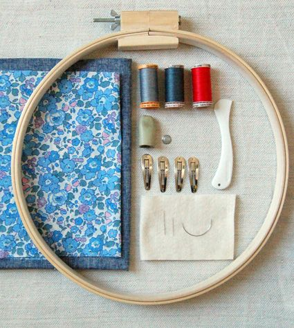 How to hand quilt- great instructions for a newbie like me!