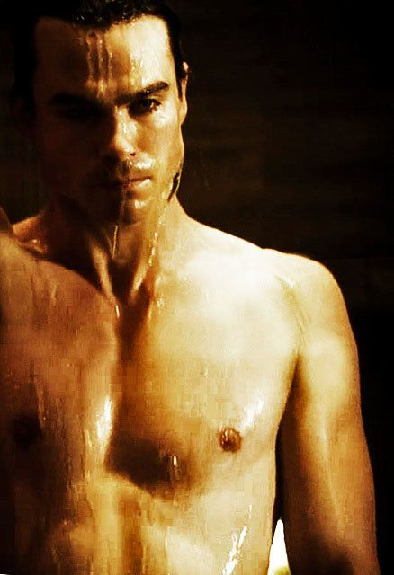 Ian Somerhalders 34th Birthday Shirtless Pictures From Vampire