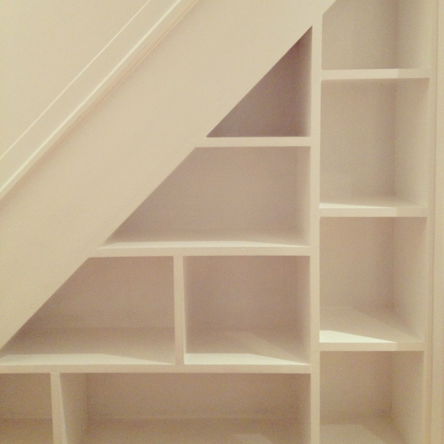 My Under Stairs Book Shoe Shelves Optimises The Storage