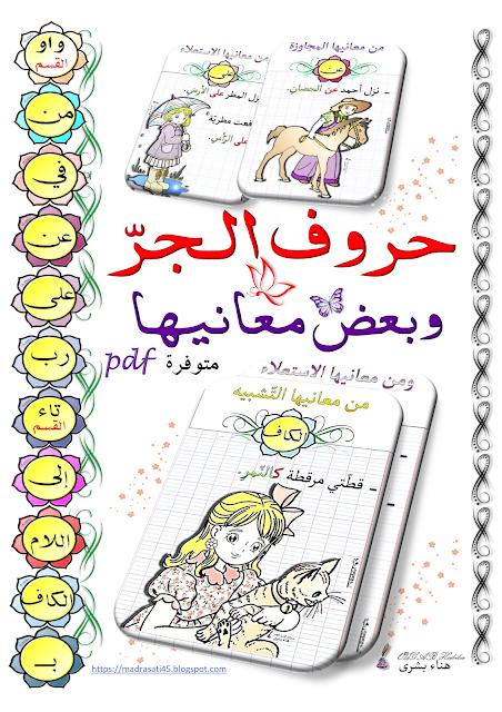 Prepositions حروف الجر وبعض معانيها Bullet Journal Journal