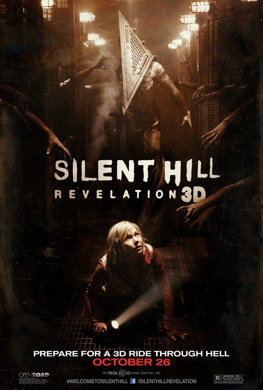 Silent Hill Revelation 3d Silent Hill Silent Hill Revelation Horror Movie Posters