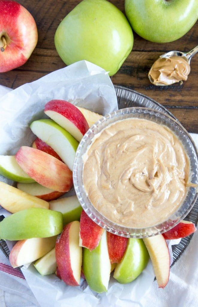 Creamy Peanut Butter Apple Dip Recipe Peanut butter