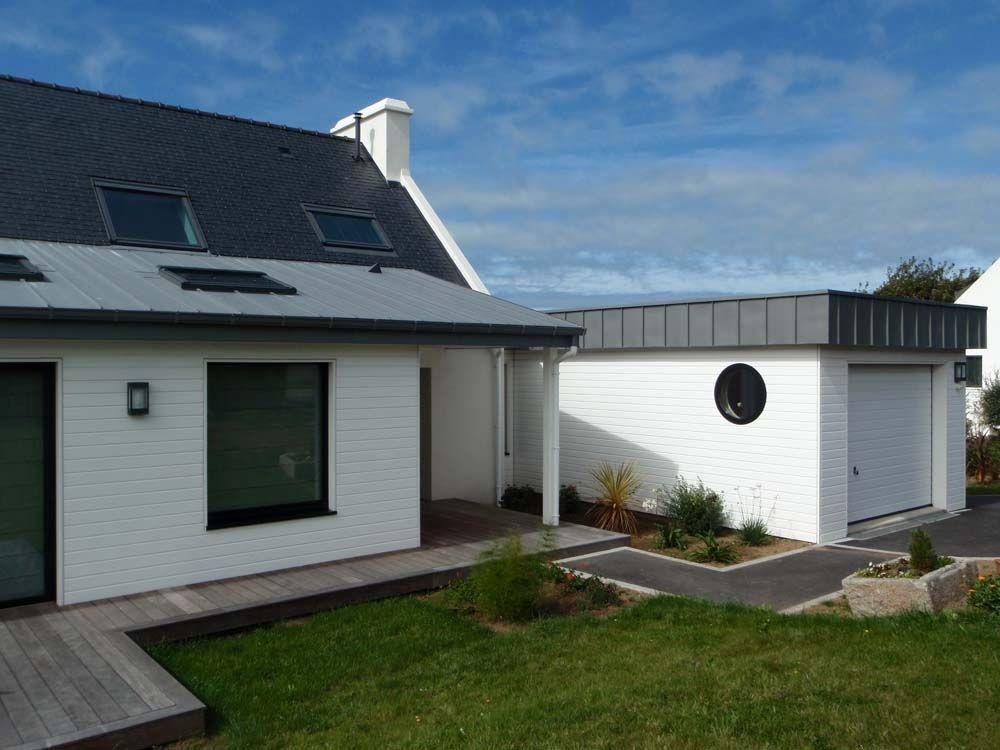 3a architecte r novation extension plouguerneau id e agrandissement cuisine pinterest. Black Bedroom Furniture Sets. Home Design Ideas