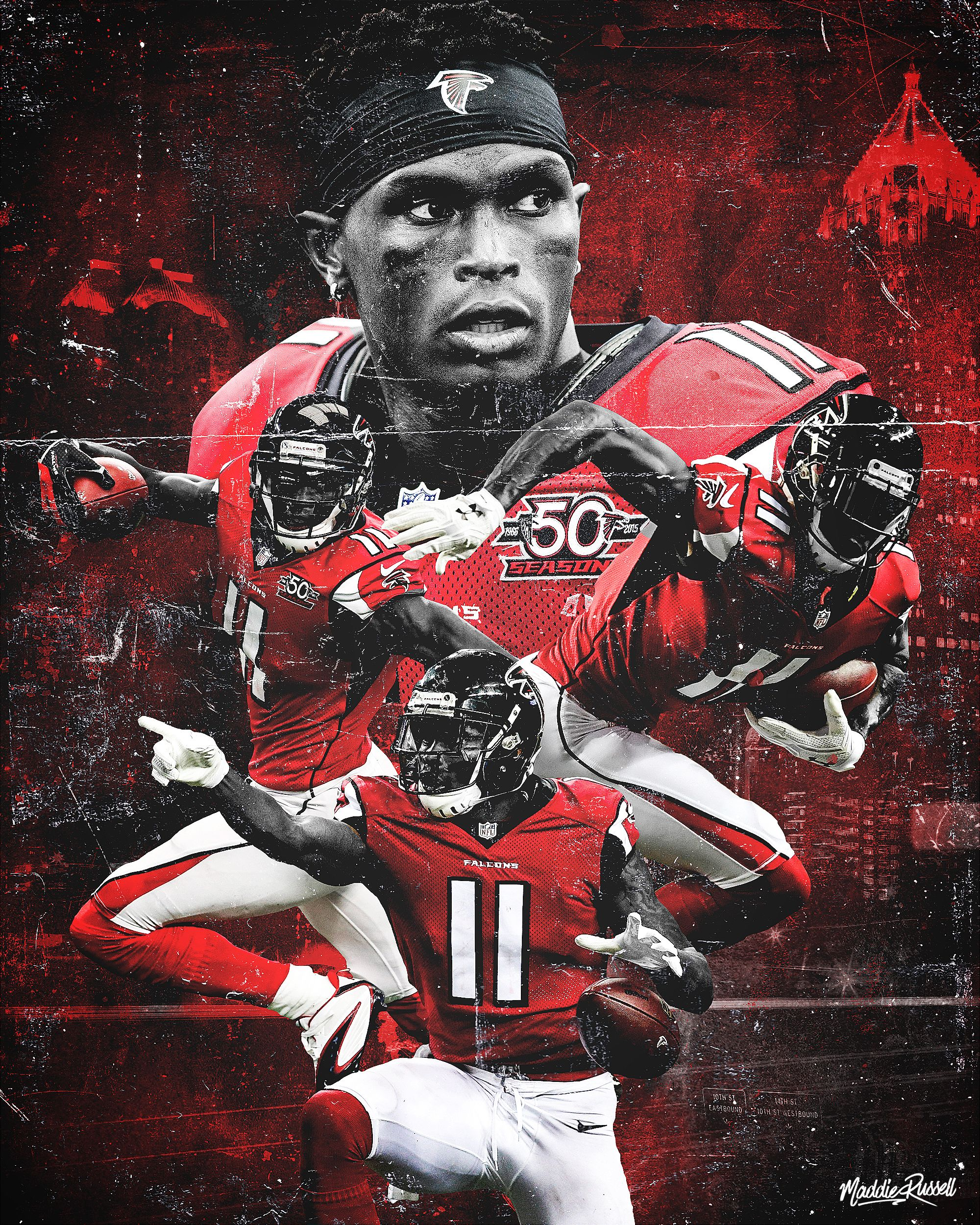 Confira Este Projeto Do Behance U201cjulio Jones U201d Https Www Behance Net Gallery 50768915 Julio J Julio Jones Atlanta Falcons Atlanta Falcons Football