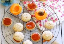 Buttery Apricot-Pluot Jam Cookies / Patty's Food