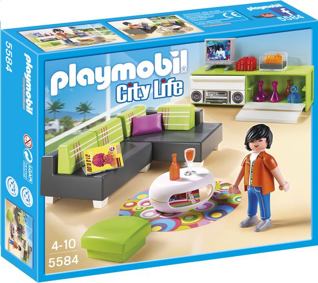 Playmobil City Life 5584 Woonkamer | Time for playmobil | Pinterest