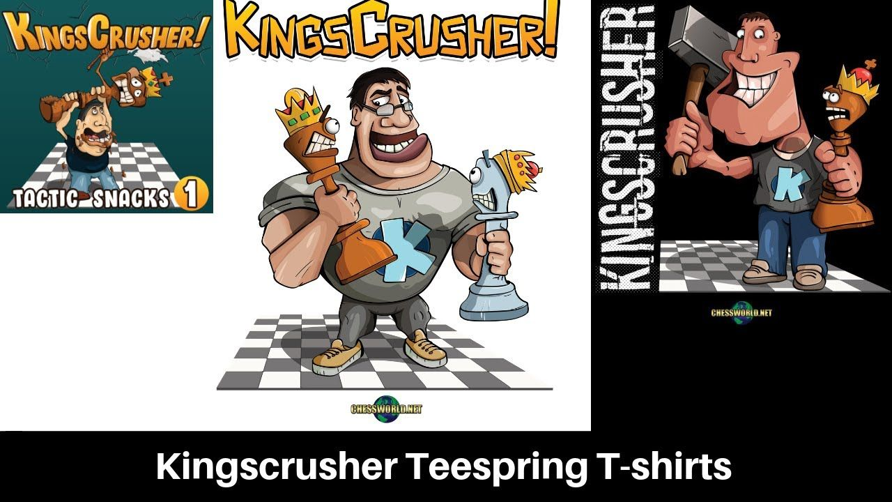 Kingscrusher Has Four New T Shirt Designs Course Approaches 100