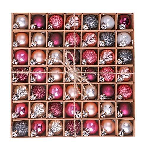 Christbaumkugeln Plastik Rot.Victors Workshop 49tlg 3cm Mysteriser Palast Weihnachtskugeln