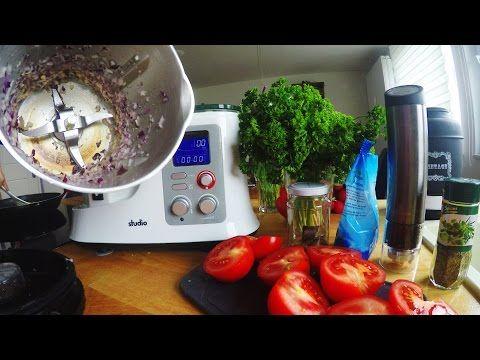 schnelle tomatensauce im multikochmixer multikochmixer thermomix quiggkchenmaschine
